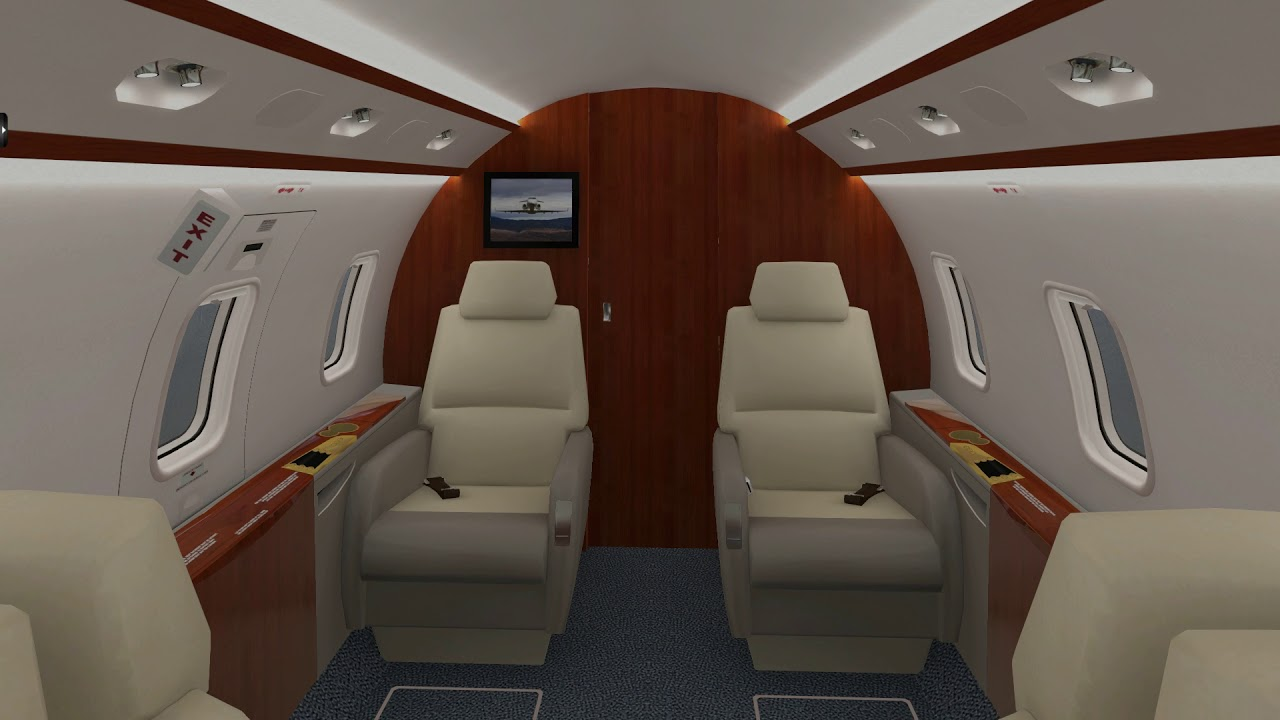 Challenger 300, upcoming update for X-Plane 11 by ddenn