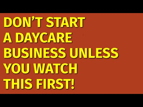 How to Start a Daycare Business | Including Free Daycare Business Plan Template