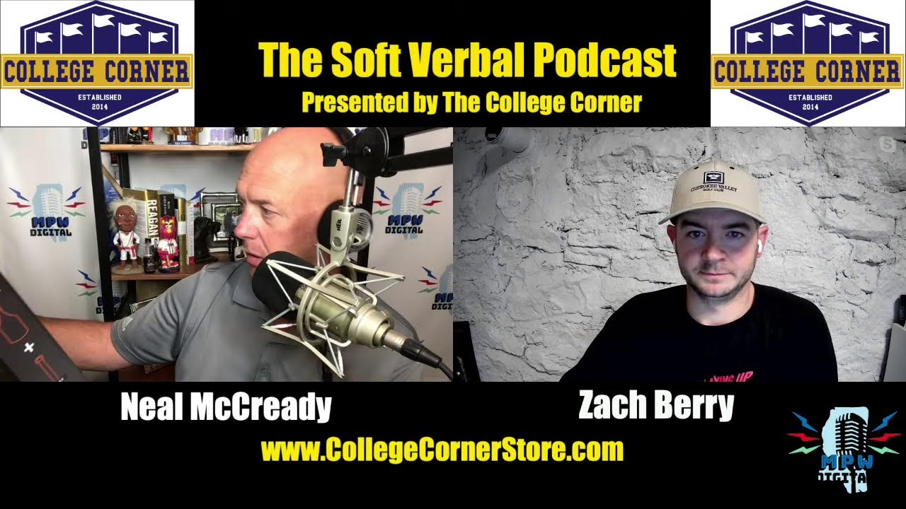 The Soft Verbal Podcast, presented by The College Corner: Things are heating up