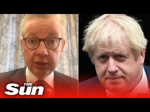 Gove 'hoping and praying' Boris Johnson makes a speedy recovery in COVID-19 fight