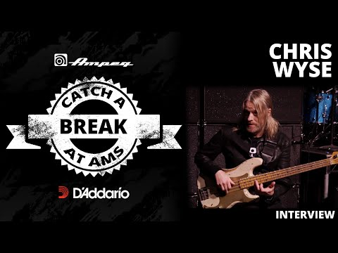Chris Wyse Interview - Catch A Break at AMS