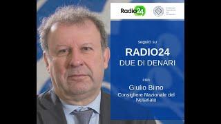 23/03/2020 - Due di denari (RADIO24) - COVID- 19 e attività degli studi notarili
