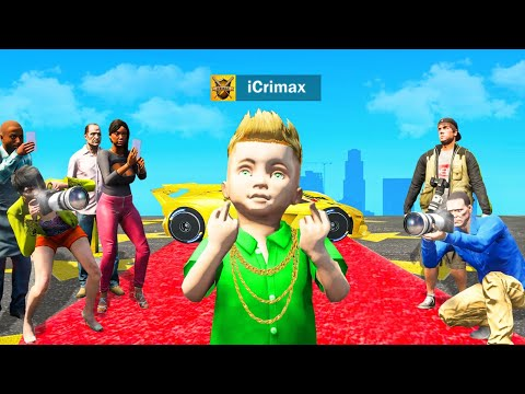 ICRIMAX als KIND in GTA 5 RP!