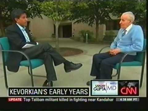 Dr. Jack Kevorkian talks to CNN's Dr. Sanjay Gupta  part 1