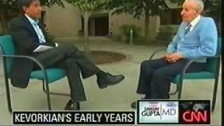 Dr. Jack Kevorkian talks to CNN