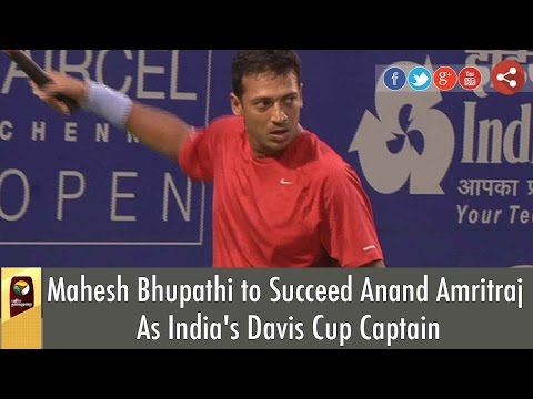 Mahesh Bhupathi to Succeed Anand Amritraj As India's Davis Cup Captain