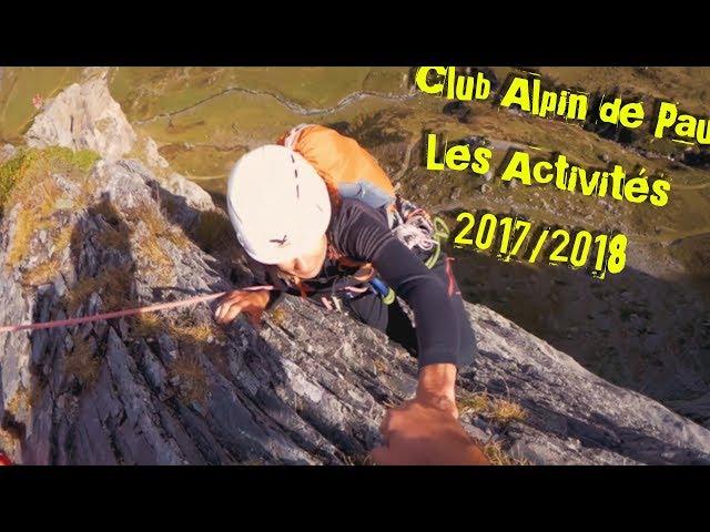 Club Alpin de Pau - Activités 2017-2018