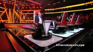 "Inês Góis - ""Oh Darling"" The Beatles - Prova Cega - The Voice Portugal - Season 2"