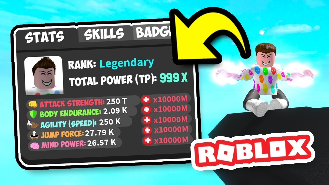 HIGHEST EVER STATS In ROBLOX SUPERHERO CITY