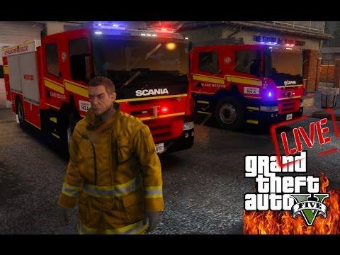 GTAV - LSPDFR AUSTRALIA LIVE! | Queensland Fire & Emergency Services | Fire Stream!