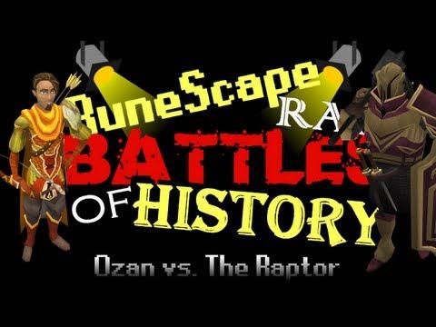 RuneScape Rap Battles of History - Ozan vs. The Raptor