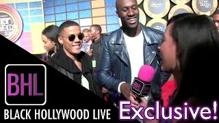 Nico & Vinz Speak on Their Latest Album @ The 2014 Soul Train Music Awards | Black Hollywood Live