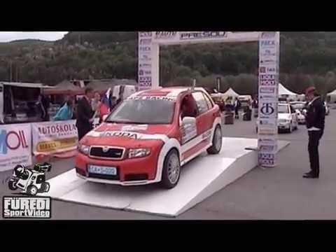 Rallye Presov 2015 URBANÍK Juraj-URBANÍKOVÁ Viera
