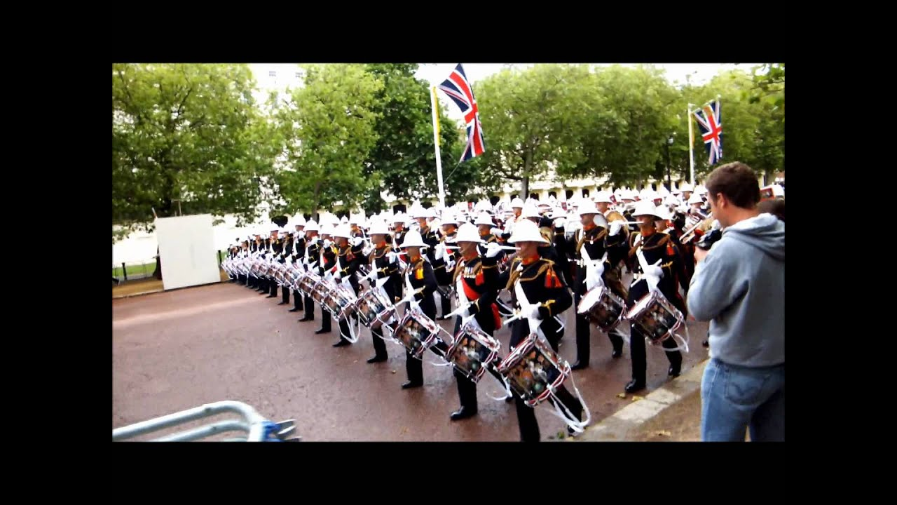 photo photos marching london musicians images foot the in at bands stock mall royal massed guards along of
