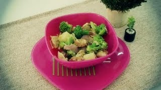 How To Make A Chicken And Broccoli Salad : Lunch On The Go