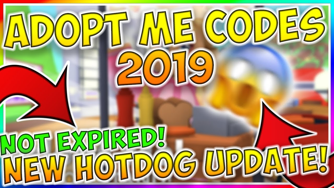 ALL NEW ADOPT ME CODES (SEPTEMBER 2019) - Not Expired/ Roblox