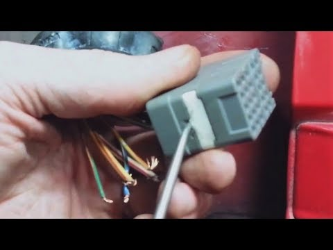1996-2000 civic drivers door depin broken wires in harness fix - youtube  youtube