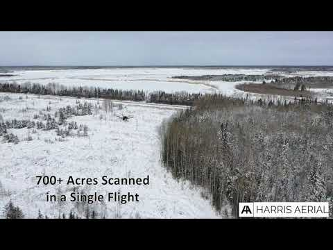 H6 Hybrid Drone - 2400 Acre LiDAR Survey