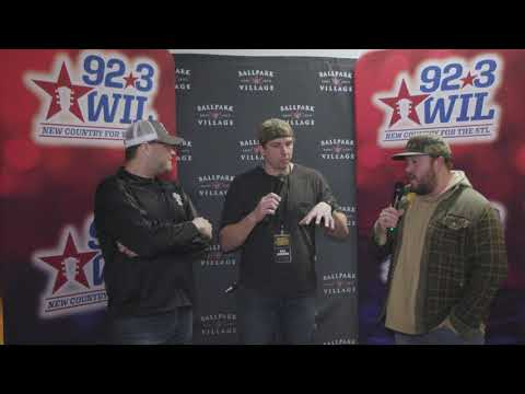 92.3 WIL interview with Mitchell Tenpenny at Hot Country Nights