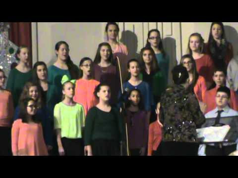 Many Styles of Rudolf DeQuincy Middle School Mixed Choir 12-10-15
