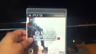 Dead Space 3 Limited Edition Unboxing PS3
