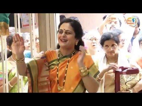 P.P. Nandai at Shree Aniruddha Gurukshetram on the 1st day of the Shubhankara Navratri 21 Mar 2015
