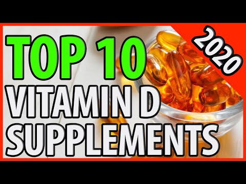 Best Vitamin D Supplement 2020 | TOP 10 Vitamin D Pills