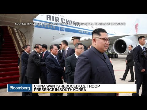 China's Shows Presence in Trump-Kim Talks Through Plane Diplomacy