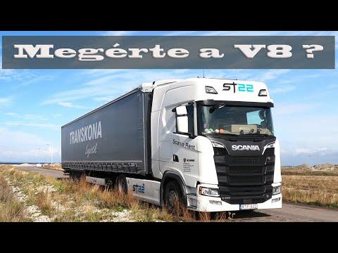 Scania V8 - Megérte?