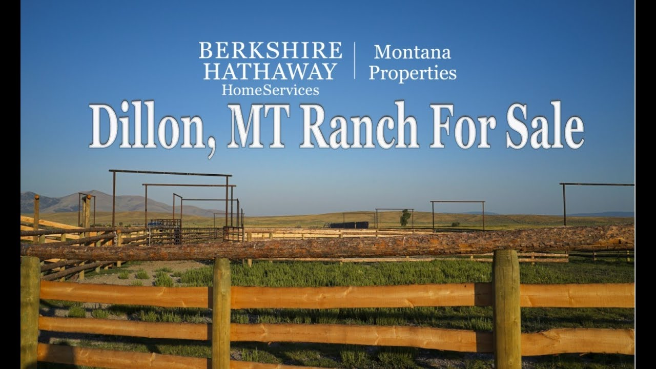 Ranches For Sale Dillon Montana Incredible Fly Fishing, Recreation and Big  Game