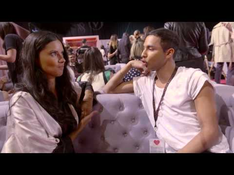 Victoria's Secret: Olivier Rousteing meets Adriana Lima