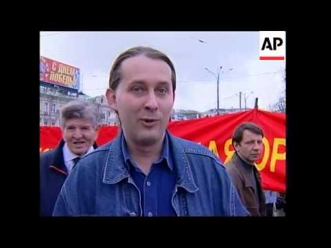 Communists hold demonstration to mark VE Day