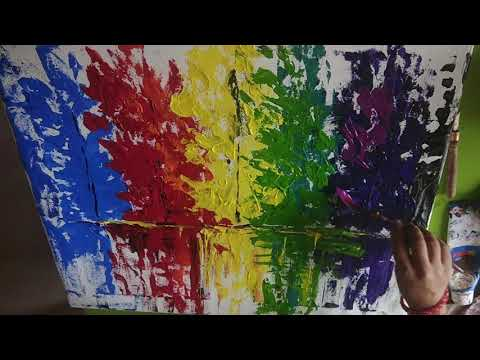 DIY Abstract Art Paintings | Painting at Home | Canvas Paintings