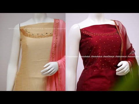 New collection churidar metrial Latest design churidar collection