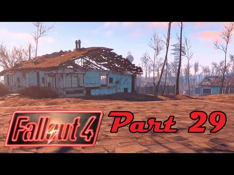 [29] Fallout 4 - Trinity Plaza & Settlement Building - Let's Play! Gameplay Walkthrough (PC)