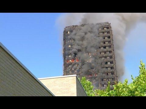 Republikein geraakt bij schietpartij en enorme brand woontoren Londen - Nieuwsminuut #1406