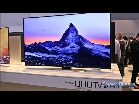 CES 2014 | Samsung HU9000 Series 4K UHD TV Lineup | Curved Ultra HD LED 4K TVs| U9000 |