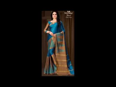 2162386cfd PADMASHREE COTTON SARIS NEW YEAR COLLECTION 2018- DYNA 12 - YouTube