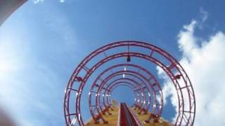 Hollywood Rip, Ride, Rockit Front Seat on-ride POV Universal Studios Florida