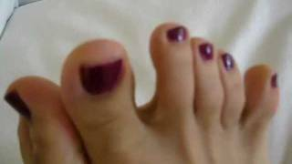 Just a quick shot of Vena's feet and toes (TS, Ladyboy, Shemale, Chinadoll)