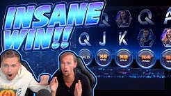 RECORD WIN!!!! Drive Netent BIG WIN - INSANE WIN on Casino Game
