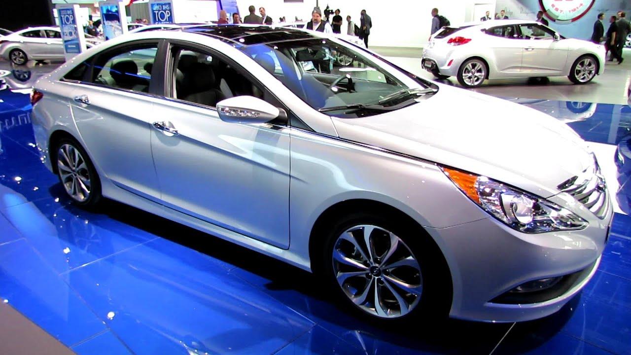 2014 Hyundai Sonata 2.0T Limited   Exterior And Interior Walkaround   2014  Detroit Auto Show