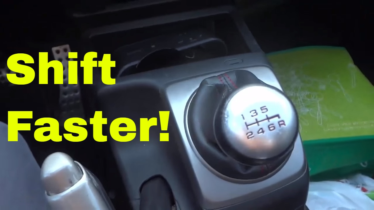 2 QUICK Tips For Shifting Faster-Driving Manual