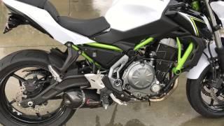 Video Kawasaki Z 650 sound - stock vs. Yoshimura Alpha Race Series download MP3, 3GP, MP4, WEBM, AVI, FLV November 2018