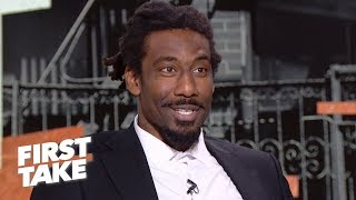 Amar'e Stoudemire: 'No question' Harden should take the last shot over Westbrook | First Take