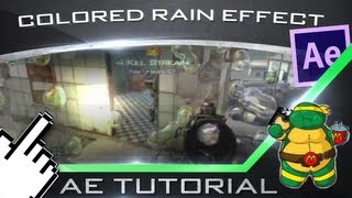 Colored Rain Effect: After Effect Tutorial