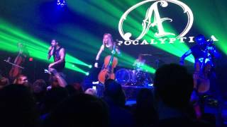 Apocalyptica - I Don't Care (Live @ London Music Hall 2015)