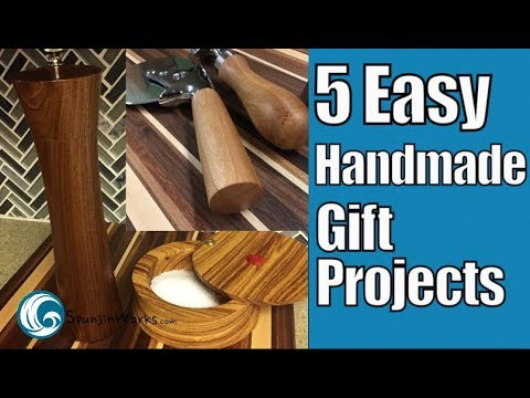 5 Quick and Easy Gift Projects // Ep. 91