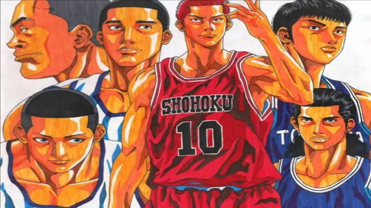 slam dunk all openings and endings youtube