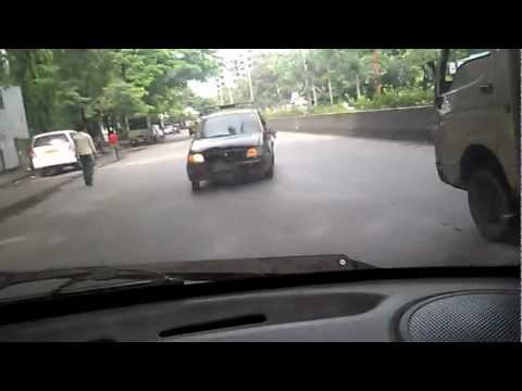 Crazy cab Driver in Mumbai , Santacruz .mp4